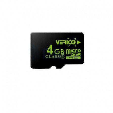 Карта памяти Verico microSDHC 4GB card Class 4