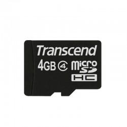 Transcend microSDHC 4GB card Class 4