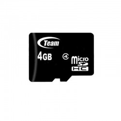 Карта памяти Team microSDHC 4GB Class 4