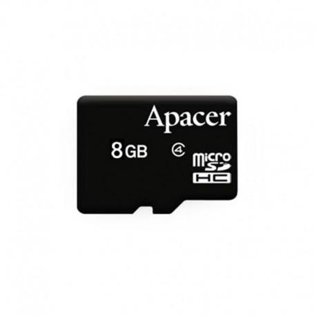Карта памяти Apacer microSDHC 8Gb class 4