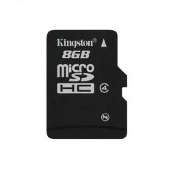 Карта памяти Kingston microSDHC 8Gb 4class