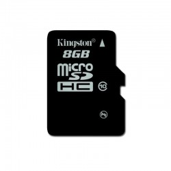 Карта памяти  Kingston microSDHC 8Gb 10class