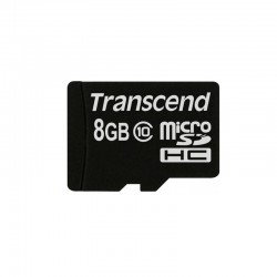 Карта памяти Transcend MicroSDHC 8GB Class 10