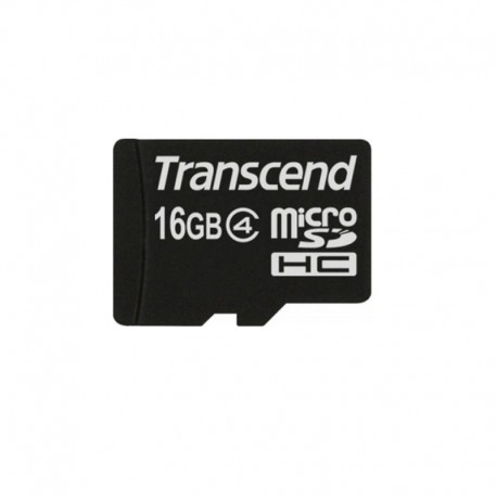 Карта памяти Transcend microSDHC 16GB Class 4