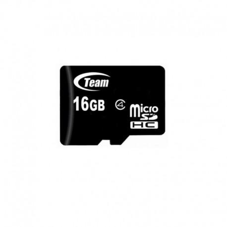 Карта памяти Team microSDHC 16GB Class 4