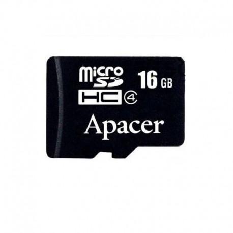 Карта памяти Apacer microSDHC 16Gb class 4