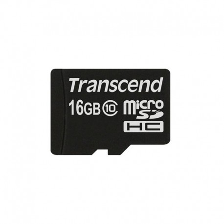 Карта памяти Transcend microSDHC 16GB card Class 10