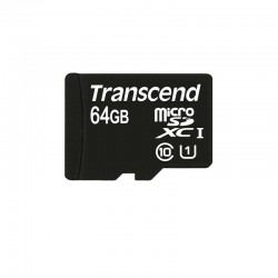Карта памяти Transcend microSDHC 64 GB Class 10