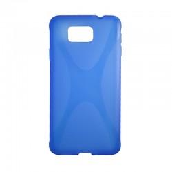 Накладка Samsung G850 Alfa New line blue