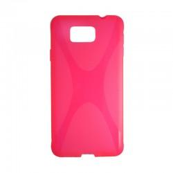 Накладка Samsung G850 Alfa New line pink