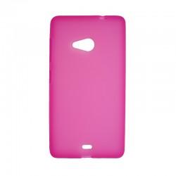 Накладка Nokia Microsoft 535 pink