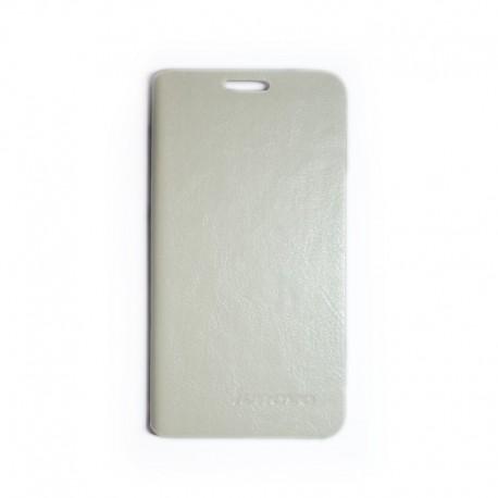 Чехол-книжка Lenovo A398 white