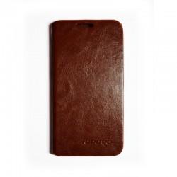 Чехол-книжка Lenovo A398+ brown