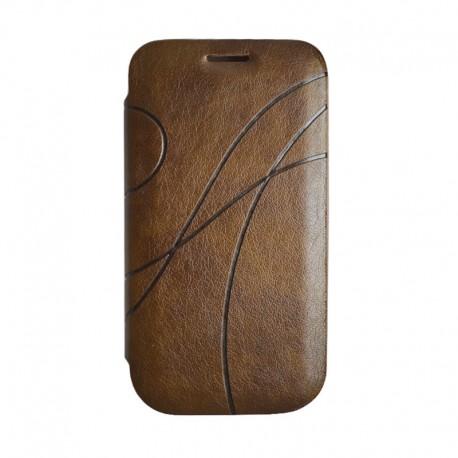 Чехол-книжка Samsung i9300 Book Cover brown