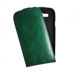 Чехол-флип Samsung i9300 Crocco Cover green