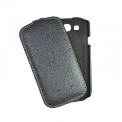 Чехол-флип Samsung i9300 Melkco black