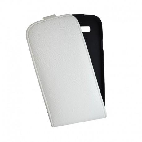 Чехол-флип Samsung i9300 Mobiking white