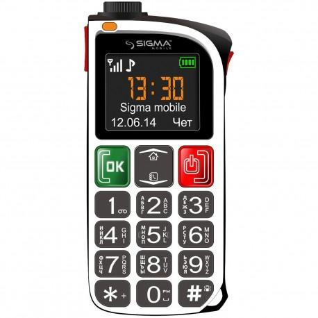 Мобильный телефон Sigma Comfort 50 Light White