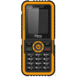 Мобильный телефон Sigma X-treme IP68 Black/Orange