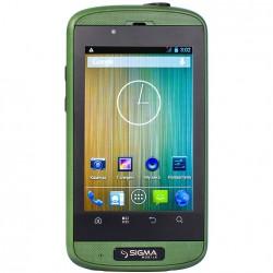 Мобильный телефон Sigma X-treme PQ12 Green/Black