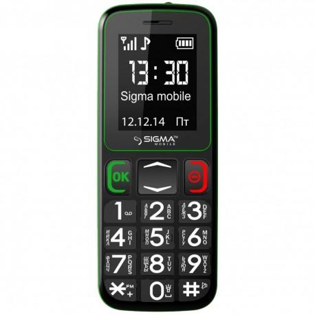 Мобильный телефон Sigma mobile Comfort 50 Mini3 Black-green