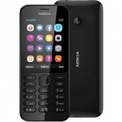 Мобильный телефон Nokia 222 Dual Black