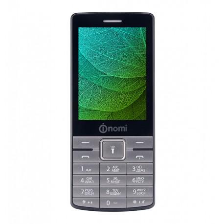 Мобильный телефон Nomi i280 Metal Dark-Grey