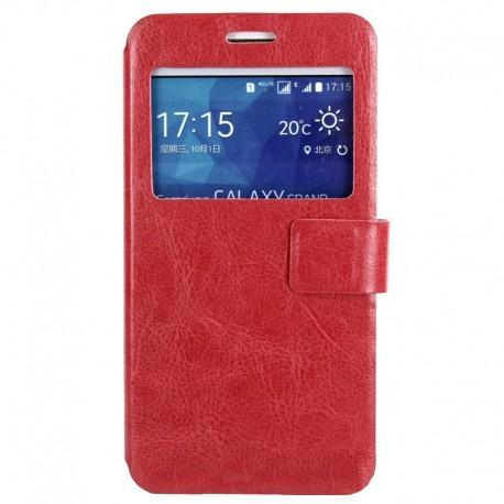 Чехол-книжка Samsung J7/J700 Red Window