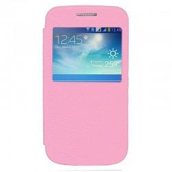 Чехол-книжка Samsung G360/G361 Pink Window