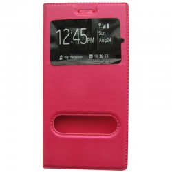 Чехол-книжка Samsung A5/A500 Pink Window
