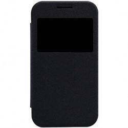 Чехол-книжка Samsung G350 Black Window