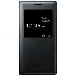 Чехол-книжка Samsung J1/J100 Black S View Cover