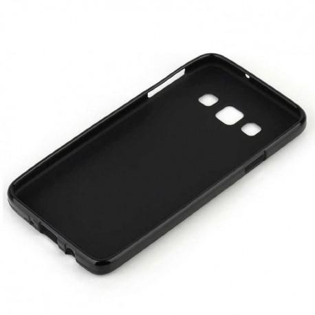 Силиконовый чехол Samsung A300 black