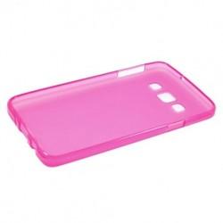 Силиконовый чехол Samsung A300 pink
