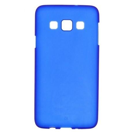 Силиконовый чехол Samsung A300 blue