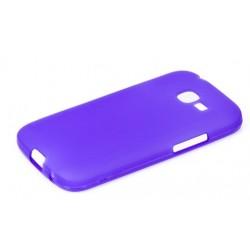 Силиконовый чехол Samsung S7262 violet