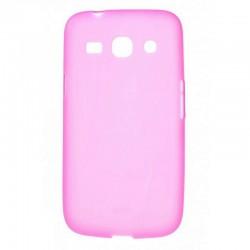 Силиконовый чехол Samsung G350 pink
