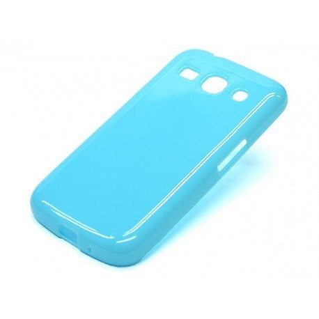 Силиконовый чехол Samsung G350 blue