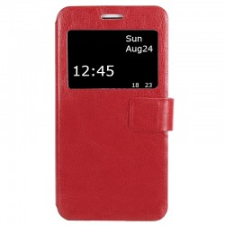 Чехол-книжка Lenovo A2010 Red Window