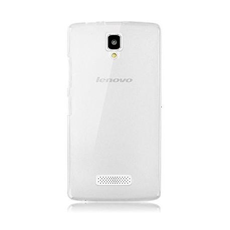 Силиконовый чехол Lenovo A2010 White 0.3mm