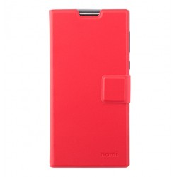 Чехол-книжка Nomi i508 red Slim Cover