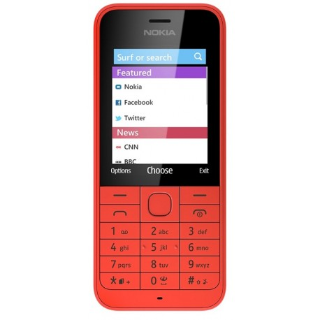 Мобильный телефон Nokia 220 Dual Red