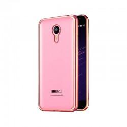 Силиконовый чехол Meizu M2 Note pink