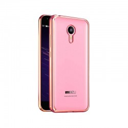Силиконовый чехол Meizu M2 Mini pink