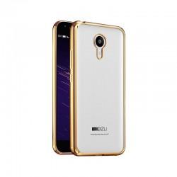 Силиконовый чехол Meizu M2 Mini gold