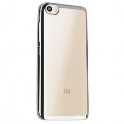 Силиконовый чехол Xiaomi Mi5 silver