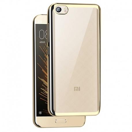 Силиконовый чехол Xiaomi Mi5 gold