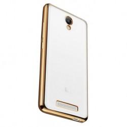 Силиконовый чехол Xiaomi Redmi Note 2 gold