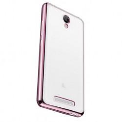 Силиконовый чехол Xiaomi Redmi Note 2 pink