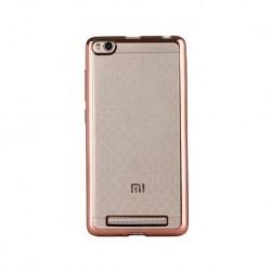 Силиконовый чехол Xiaomi Redmi 3 pink